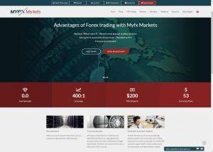 MyfxMarketsサイトトップ